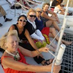 Friends & fun at sea