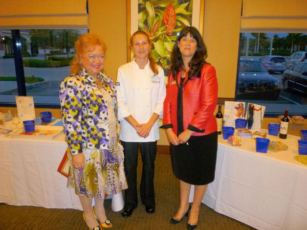 Denyse, Chef Christina & Duan