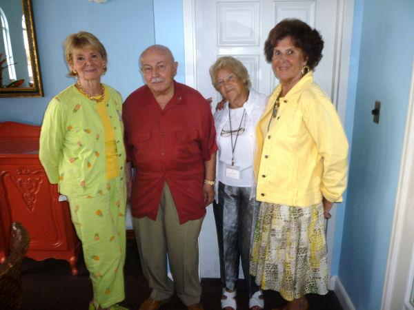 """""""Nos Orateurs""""Diane, Mark, Etiennette & Marlene"""