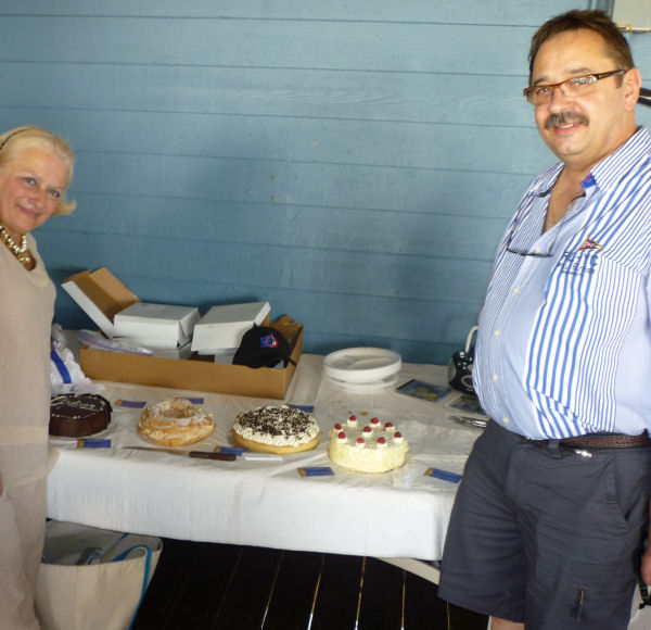Desserts graciously donated by Marie-Odile & Michel