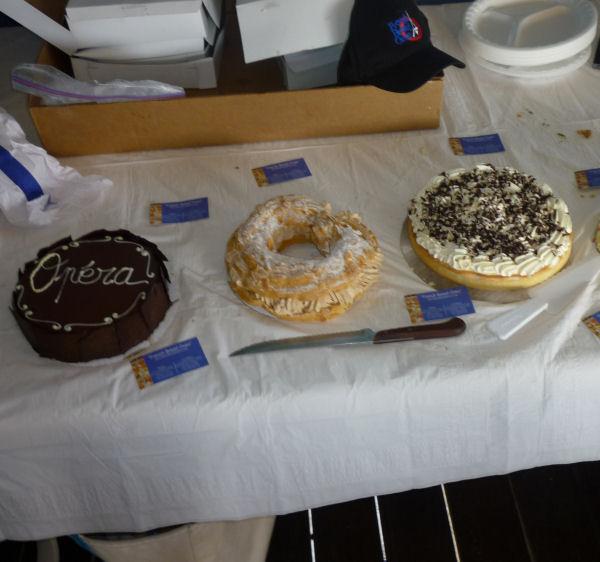 Les desserts delicieux