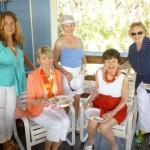 Kay, Diane, Julia, Guest & Shirley