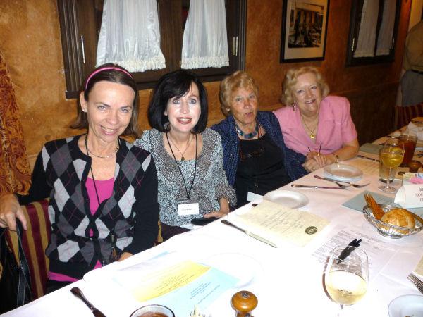 Karin, Cheryl, Etiennette & Claire