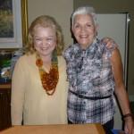 Pres. Denyse & Hostess Corinne