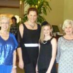 Our lovely models (Coby, Adell, Gigi & Julia)