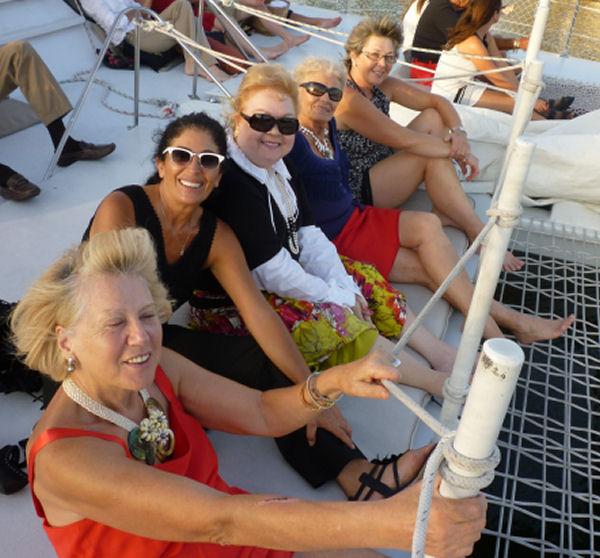 Friends & fun at sea