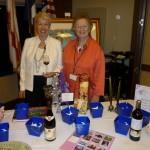 Raffle Table Coordinators Coby & Shirley