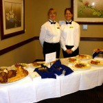 Delicious hors d'oeuvres & Dinner