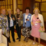 Denyse, Etiennette, Mary, Guest & Claire