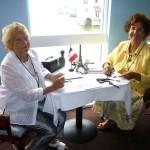 Welcoming Committee Etiennette & Marlene