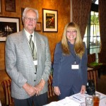 Newly reelected Board members Herb Stopper & Carla Boggess