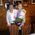Pres. Denyse thanks Master-of-Ceremonies Helen Sundgren
