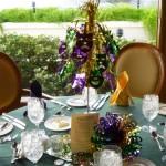 03 - Mardi Gras Table Decorations