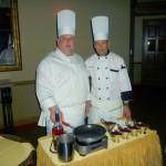 17 - Chefs preparing Cherries Jubille