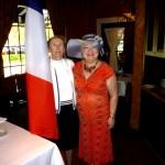06 - Master-of-Ceremonies Helen Sundgren with Pres. Denyse