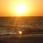 Sunset at Pelican Bay